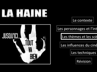 La Haine- Movie study/ Etude du film- les thèmes et les scènes- A Level French