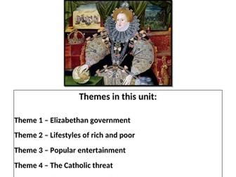 Eduqas - WJEC GCSE History Revision Guide - The Elizabethan Age - 1558-1603