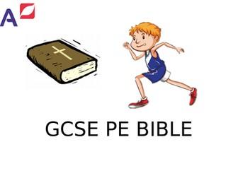 AQA GCSE PE Revision Booklet 2016 spec