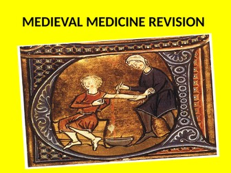GCSE History Medicine in Britain Revision Topic 1 Medieval Medicine