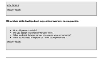 Pearson BTEC-Applied science-UNIT 2D-Assignment template