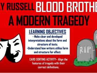 Blood Brothers - A Modern Tragedy