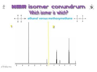 Isomer conundrum: ethanol versus methoxymethane