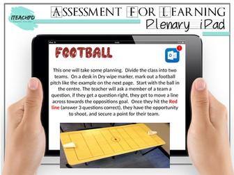 Plenary iPAD (Assessment for Learning AFL)