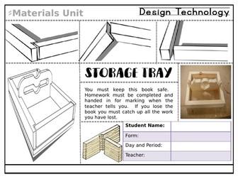 KS3 Materials Project - Storage Tray