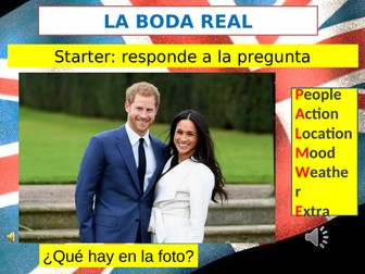 Royal wedding  (La boda real)