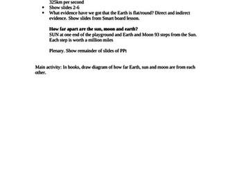 Sun Moon and Earth introduction