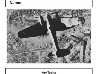 London and the Second World War, Edexcel (9-1)
