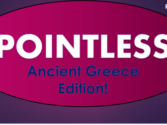 Ancient Greece Pointless Game!