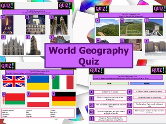 The Big Geography Quiz Part I