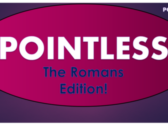 Romans Pointless Game!