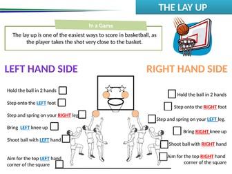 Basketball Peer Assessment Sheets
