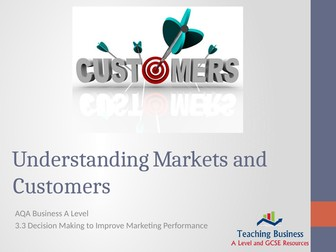 AQA Business - Understanding Markets and Customers