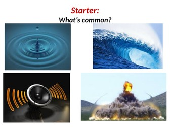 AS Physics Waves & Optics **6 PPT Lessons on 1 file**