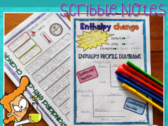 Enthalpy Change Scribble (Doodle) Notes