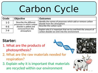 NEW AQA GCSE Trilogy (2016) Biology - The Carbon Cycle