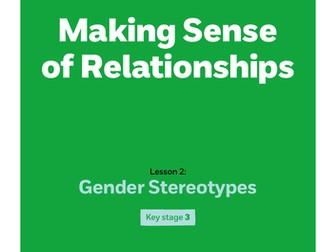 Key stage 3: Lesson plan 2 - Gender stereotypes