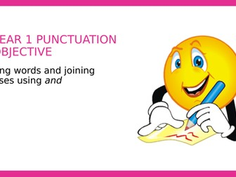 Year 1 SPAG PPT Joining words and clauses using and