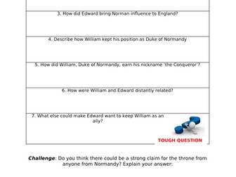 Who were the Normans? Suitable for AQA 8145 and KS3