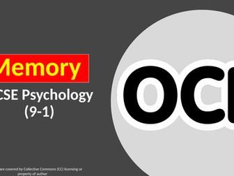 OCR GCSE PSYCHOLOGY (9-1): MEMORY