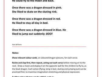 Colourful Dragon Rhymes - for all ages