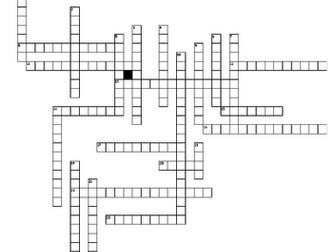 Waves Crossword