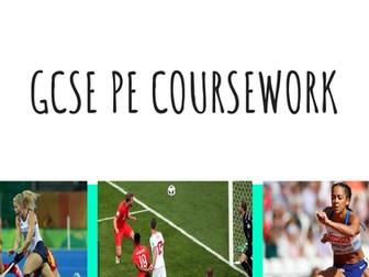 AQA GCSE PE Coursework