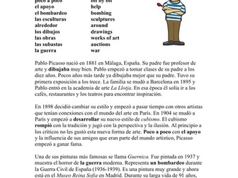 Pablo Picasso Biografía - Spanish Biography of a Spanish Artist (Guernica)