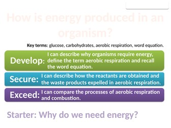 8Ca Aerobic respiration (Exploring Science)