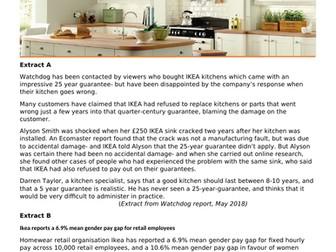 GCSE Business (9-1) - Legislation exam questions