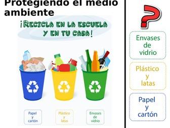 AQA GCSE Spanish Protegiendo el Medio Ambiente