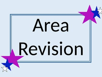 Area revision