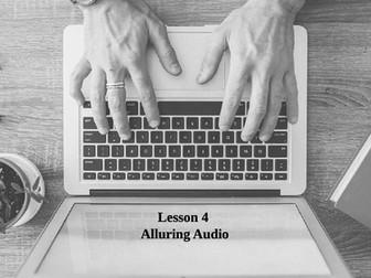 App Inventor Alluring Audio - (Lesson 4)