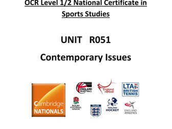 OCR national Certificate in Sports Studies R051 L04 Teacher booklet