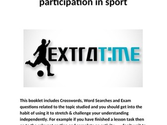 OCR National Certificate in Sports Studies R051 L01 extra time booklet