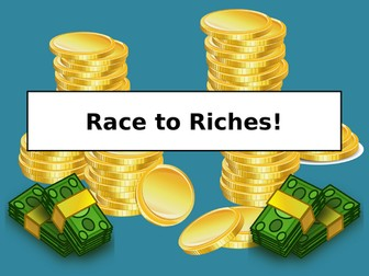 Race to Riches Maths Game