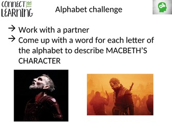 Macbeth - building vocabulary