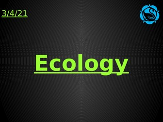 Ecology AQA Trilogy