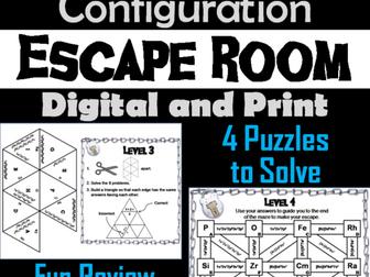 Electron Configuration: Chemistry Escape Room - Science