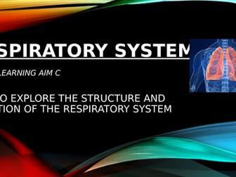 Level 3 BTEC Sport Unit 1 - Respiratory System