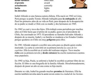 Isabel Allende Biografía: Spanish Biography on Chilean Author
