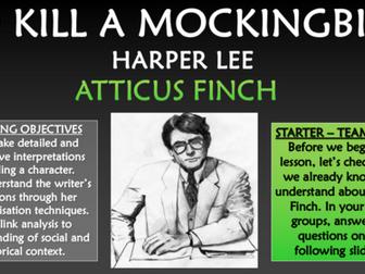 To Kill a Mockingbird - Atticus Finch!