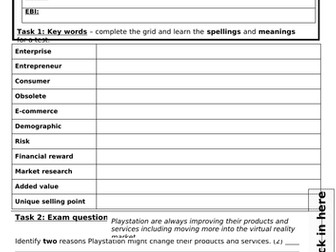 Homeworks for Theme 1 of Edexcel GCSE 9-1