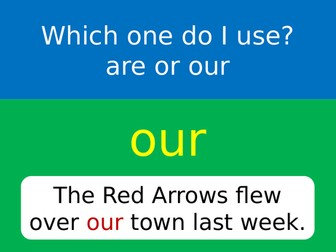 Are or Our? 2 x A4 posters