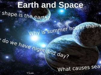 Earth and Space Revision Lesson