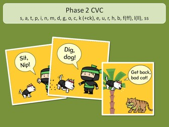 Word Pictures and Captions Sets 1-5 - Phase 2