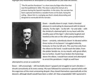 Evaluation: Edgar Allan Poe.