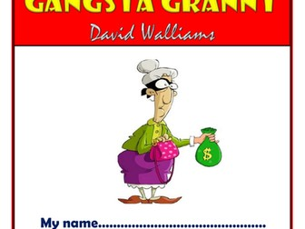 Gangsta Granny KS2 Comprehension Activities Booklet!