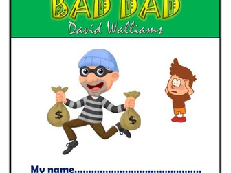 Bad Dad KS2 Comprehension Activities Booklet!