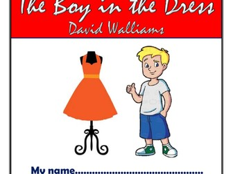 The Boy in the Dress KS2 Comprehension Activities Booklet!